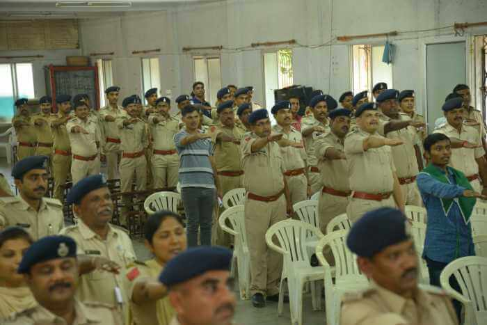 District Police Anand (Petlad Division)  at N.K High School Petlad.