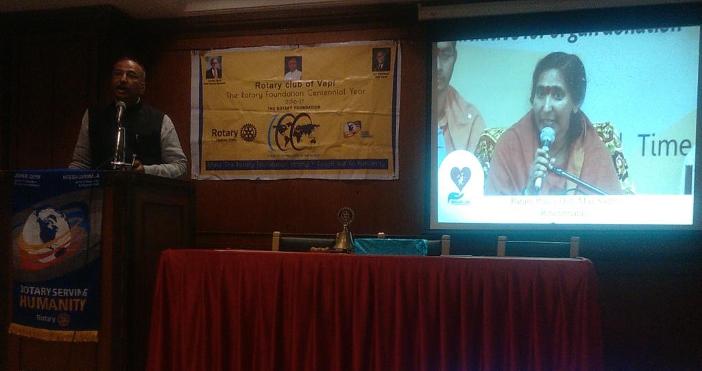 Organ Donation Awareness Program at Rotary Club of Vapi