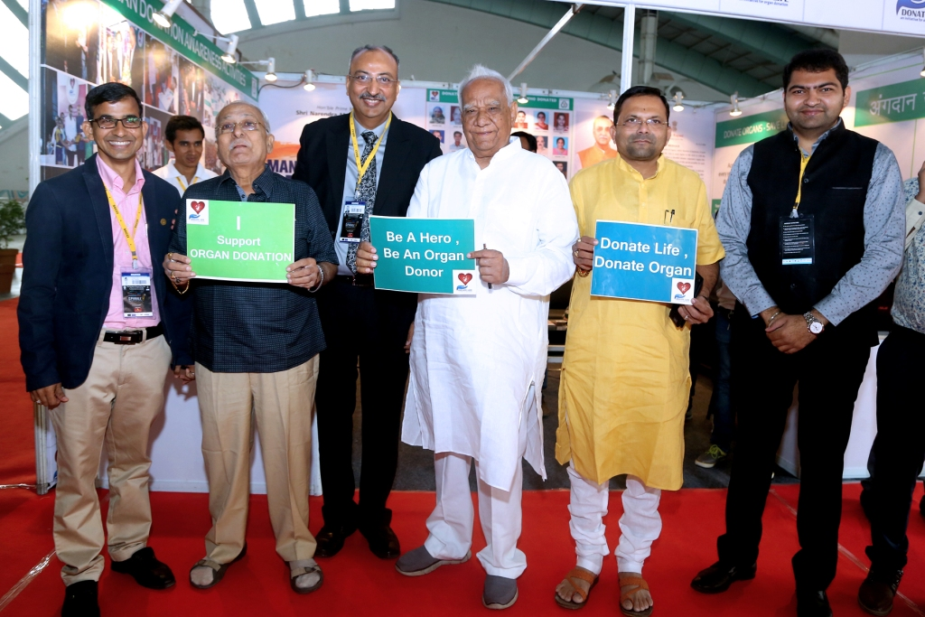 Organ Donation Awareness Camp at Sparkle Exhibition
