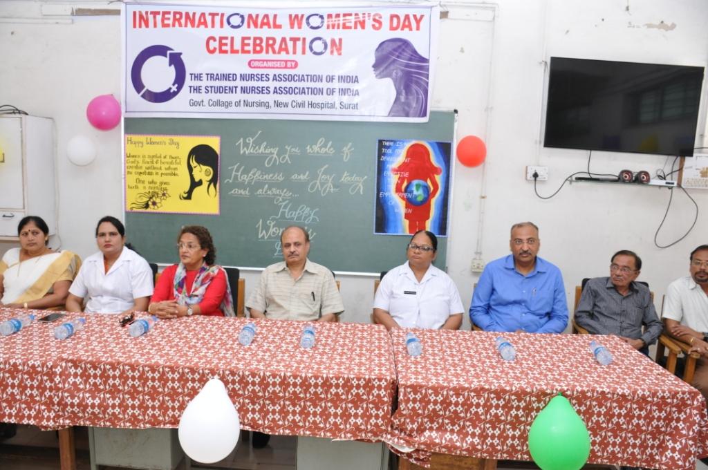 World Women Day Organ Donation Awareness Program at Nursing College New Civil