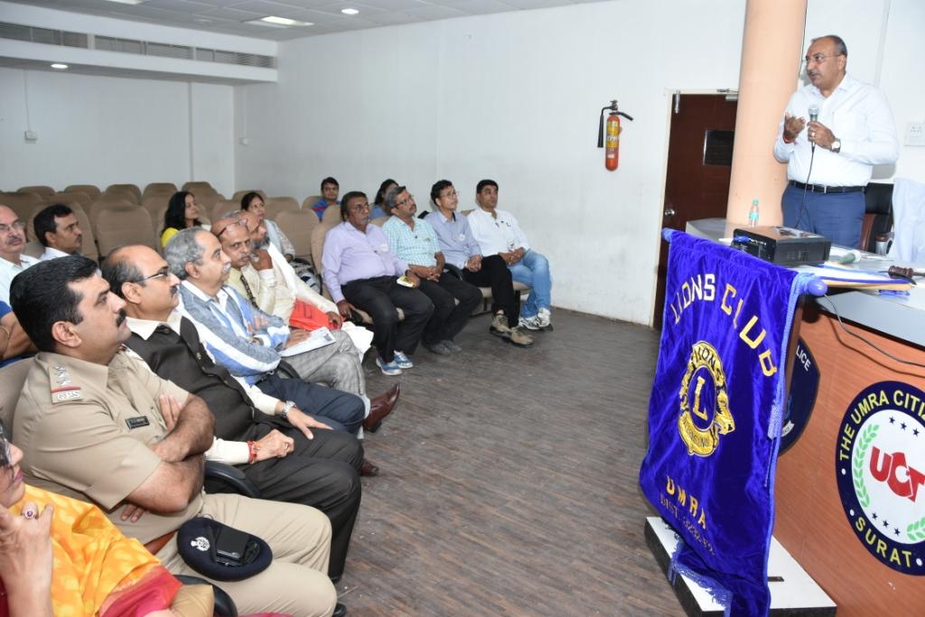 Organ Donation Awareness Program at Liones Club Umara