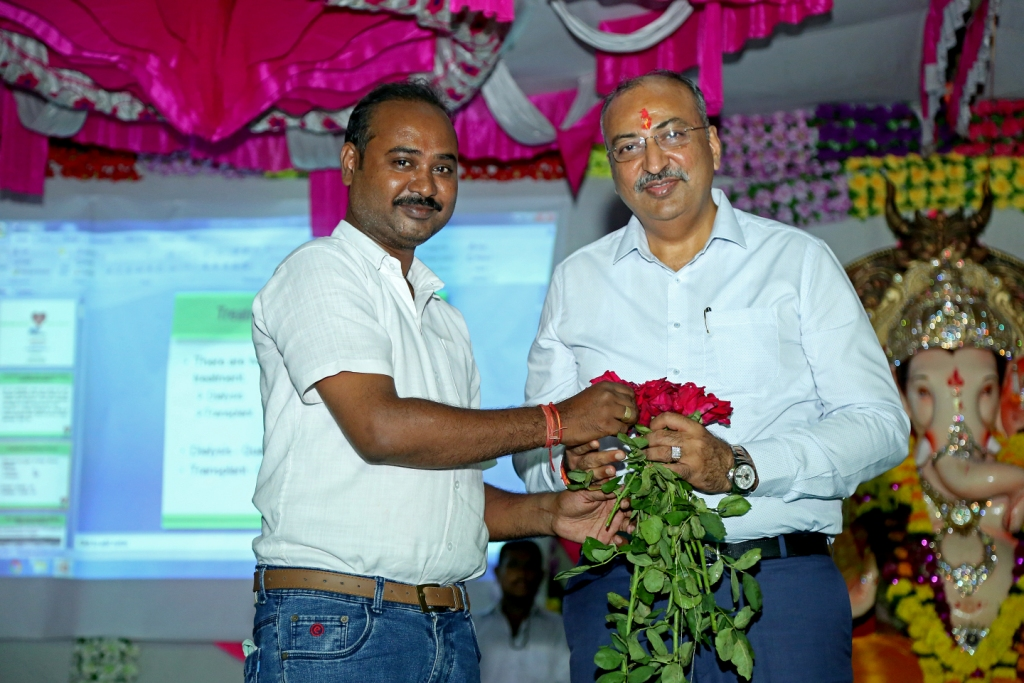Organ Donation Awareness Program at Pratap Nagar, Limbayat