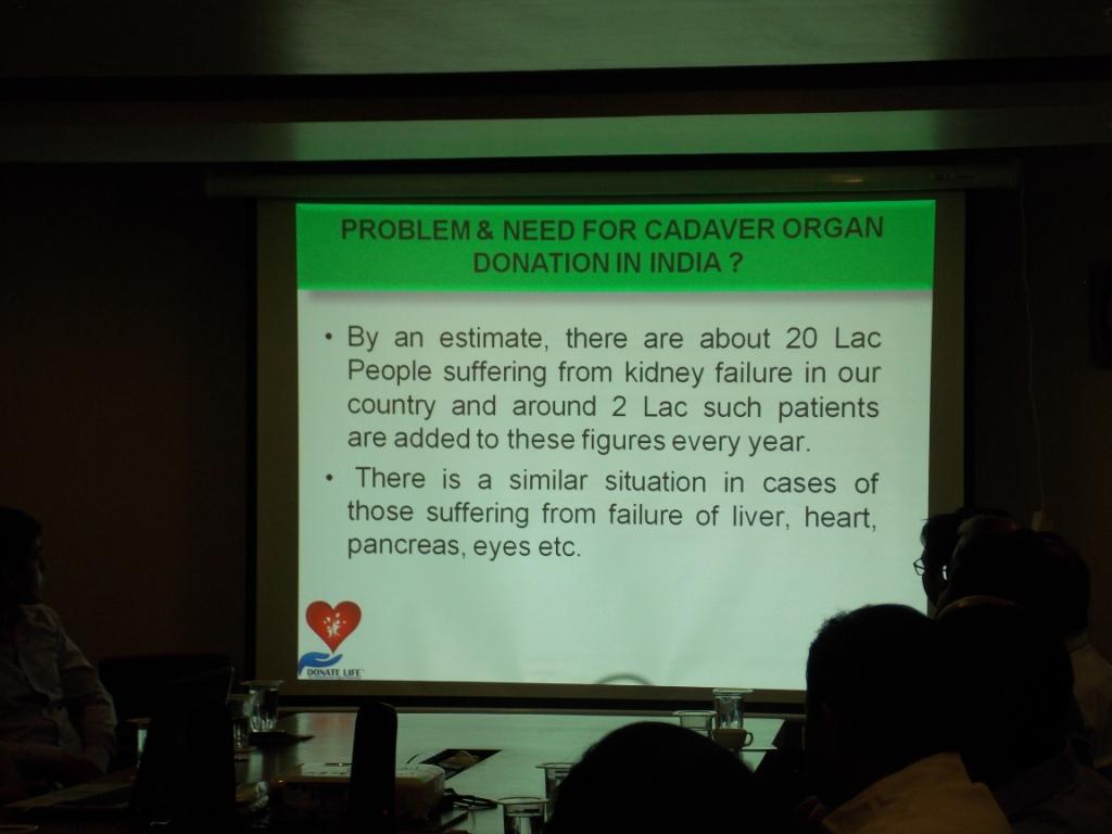 Organ Donation Awareness Program at Income Tax Office Vadodara