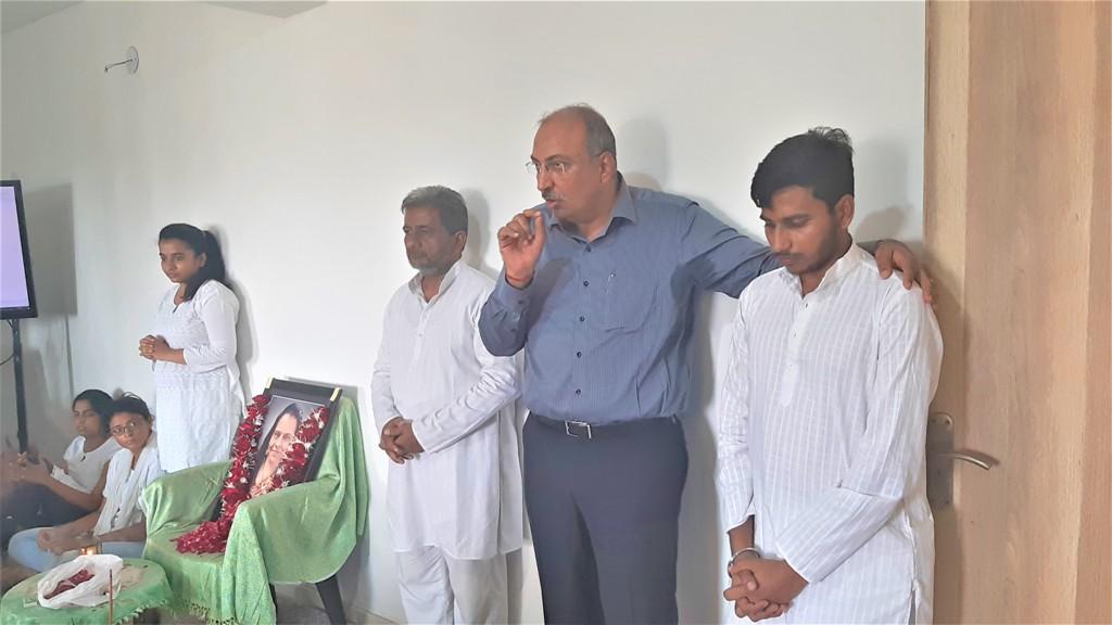 Prathana Sabha of Late. Kiranben Kalpeshbhai Lakdawala