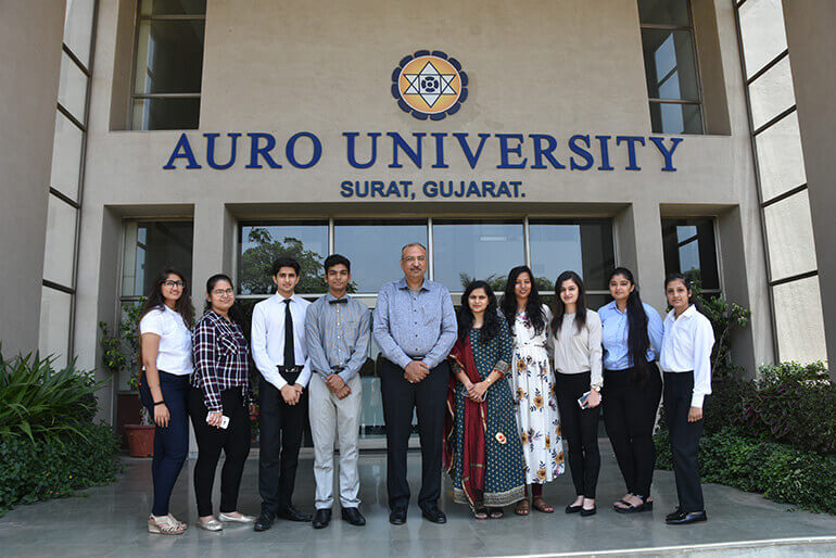 Auro University - 2018