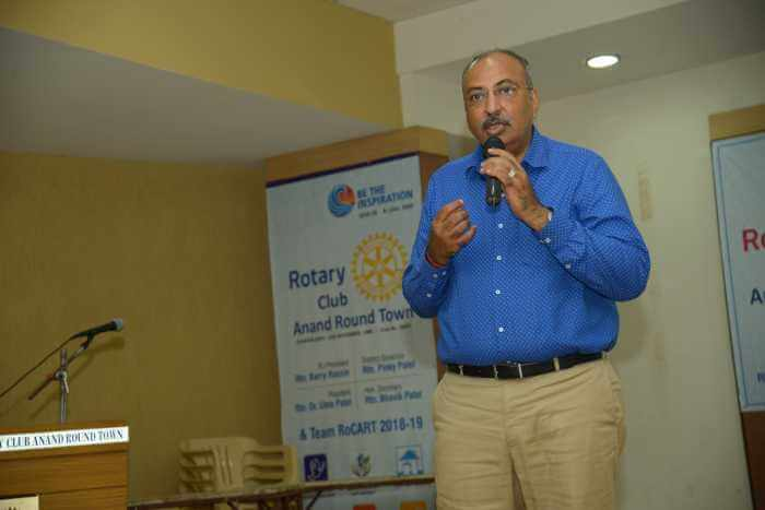 Rotary Round Town Anand at Anand
