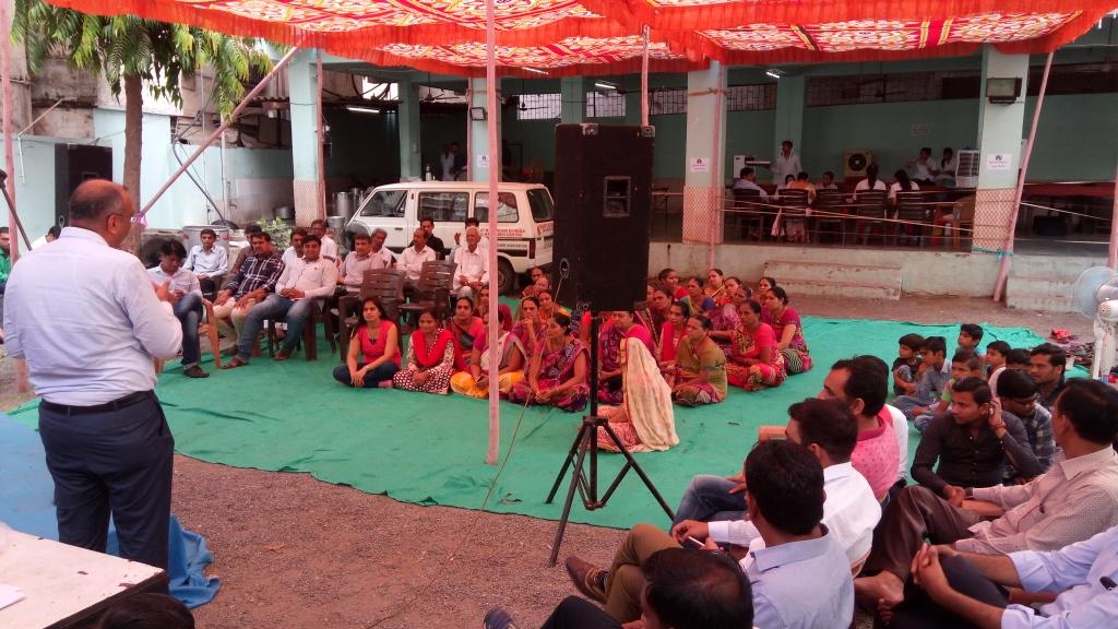 Organ Donation Awareness Program at Shri khodiyar Yuvak Mandal_Blood Camp