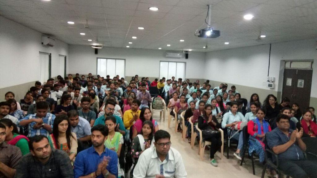 Organ Donation Awareness Program at Bhagwan Mahavir College of Science & Technology, Surat