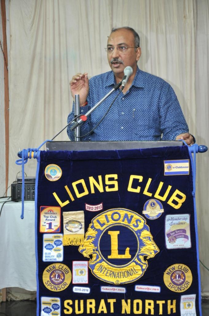 Organ Donation Awareness Program at Lines Club Laljinagar