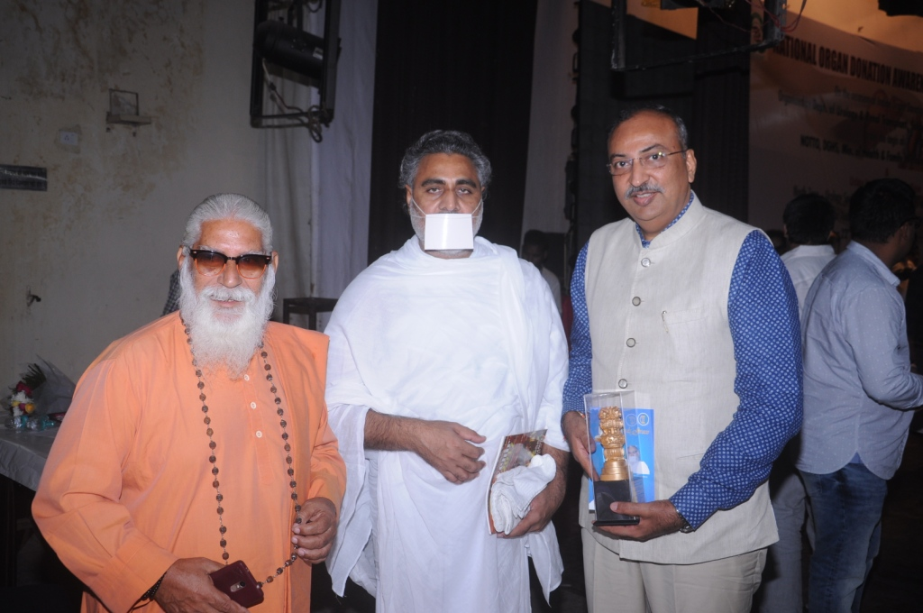 Donate Life felicitated by Notto