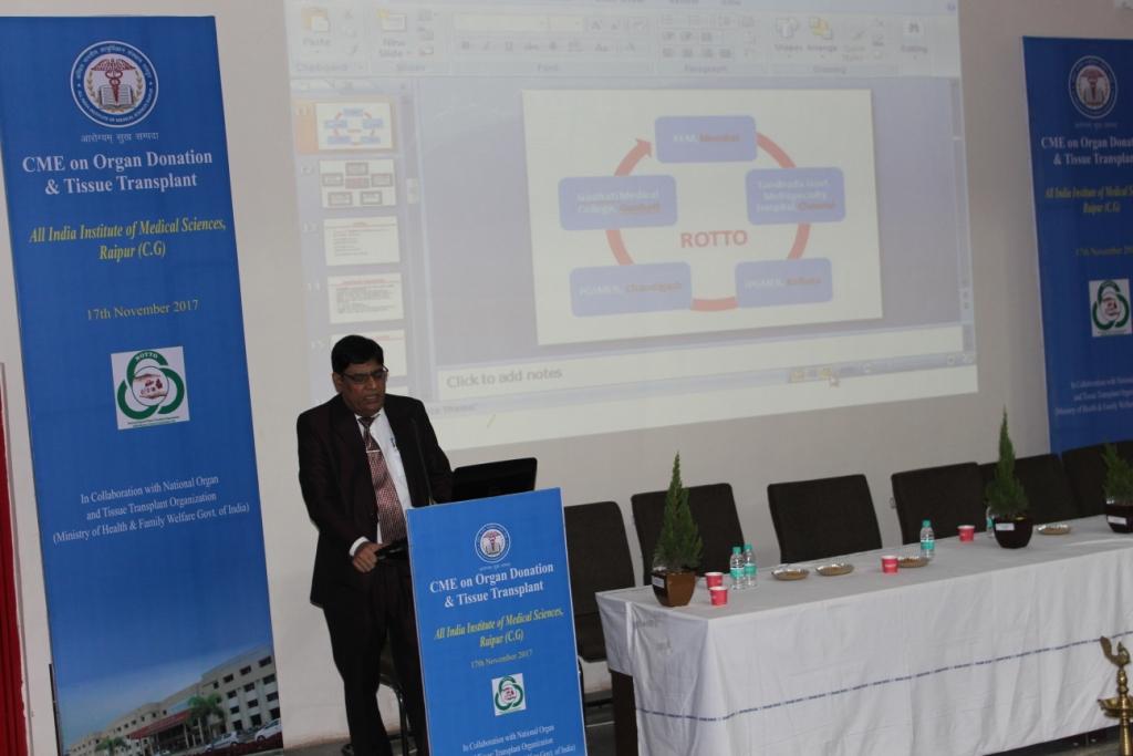 Organ Donation Awareness Program at All India Medical Sciences, Raipur, Chhattisgarh