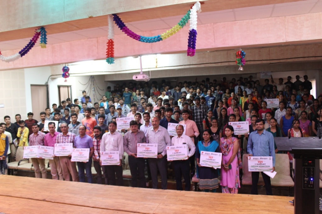 Organ Donation Awareness Program at Agriculture College, Waghai