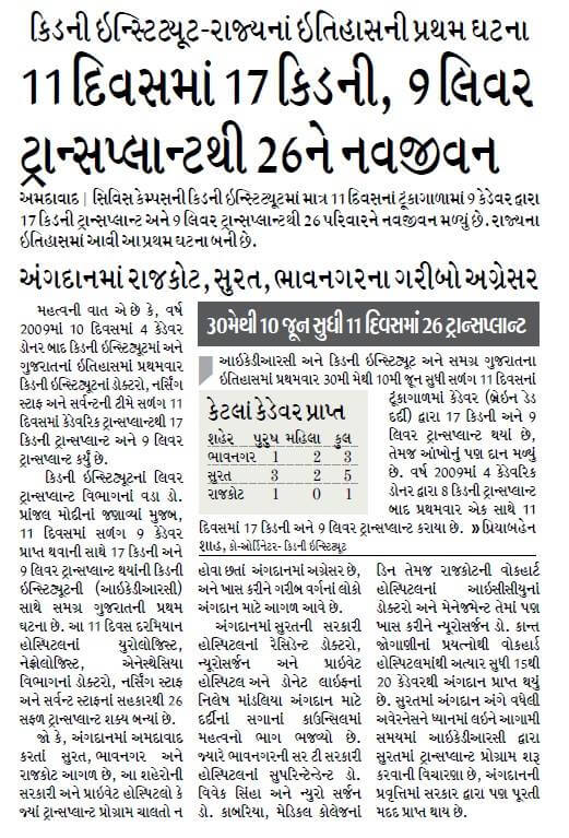 CP Support_Organ Donation in Surat